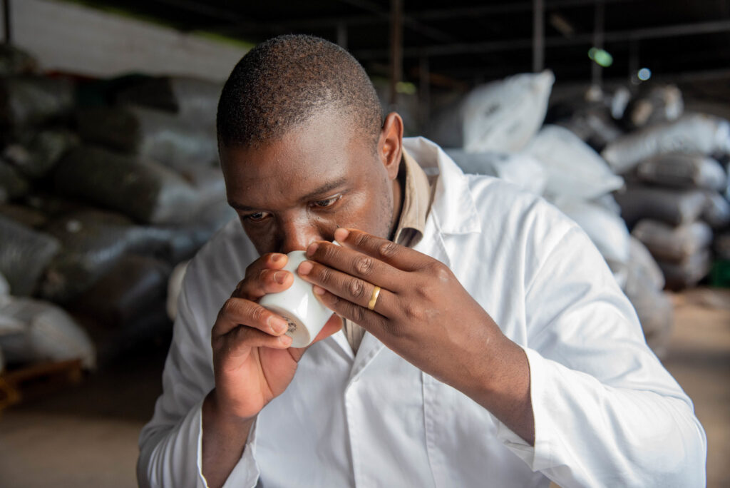 """Alfred Mwase: elaborando chás ortodoxos em meio a um mar de chás """"CTC"""""""